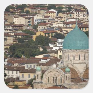 Italy, Tuscany, Florence, Tempio Maggiore Sticker