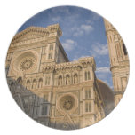 Italy, Tuscany, Florence. The Duomo. Dinner Plate
