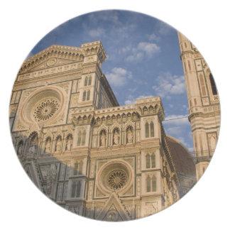 Italy, Tuscany, Florence. The Duomo. Melamine Plate
