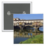 Italy, Tuscany, Florence, The Ponte Vecchio 2 Buttons
