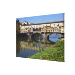 Italy, Tuscany, Florence, The Ponte Vecchio 2 Gallery Wrap Canvas