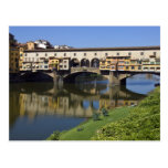 Italy, Tuscany, Florence, The Ponte Vecchio 2 Postcards