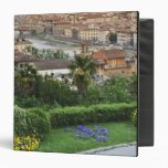 Italy, Tuscany, Florence. View of city from Vinyl Binders