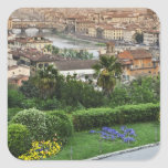 Italy, Tuscany, Florence. View of city from Square Sticker