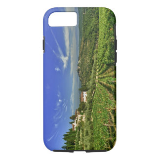 Italy, Tuscany, Greve. The vineyards of Castello iPhone 8/7 Case