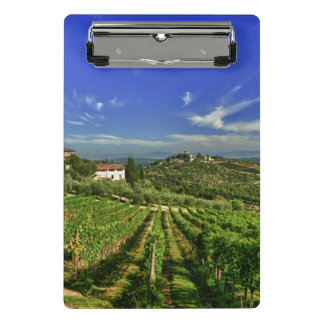 Italy, Tuscany, Greve. The vineyards of Castello Mini Clipboard