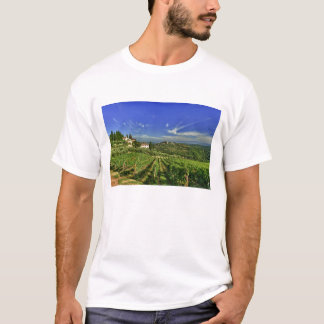 Italy, Tuscany, Greve. The vineyards of Castello T-Shirt