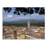 Italy, Tuscany, Lucca, View of the town and 4 Postcard