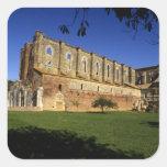 Italy: Tuscany, Massa Marittima, San Galgano Square Sticker