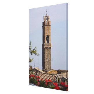Italy. Tuscany. Montalcino Canvas Print