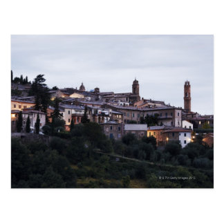 Italy,Tuscany,Montalcino Postcard
