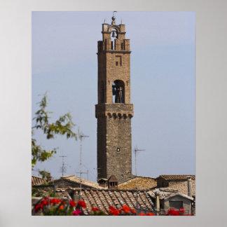 Italy. Tuscany. Montalcino Poster