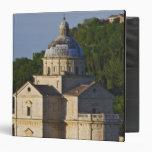 Italy, Tuscany, Montepulciano. Church of San 3 Ring Binder