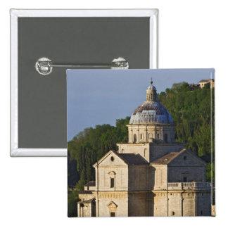 Italy, Tuscany, Montepulciano. Church of San Pinback Button