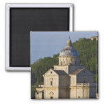 Italy, Tuscany, Montepulciano. Church of San 2 Inch Square Magnet