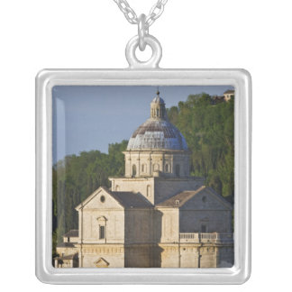 Italy, Tuscany, Montepulciano. Church of San Silver Plated Necklace