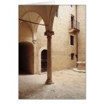 Italy,Tuscany,Pienza Card