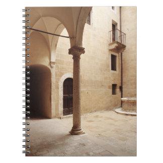 Italy,Tuscany,Pienza Notebook