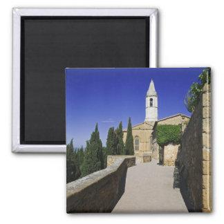 Italy, Tuscany, Pienza. Part of Via dell' Magnet