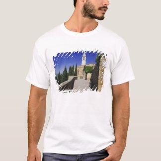 Italy, Tuscany, Pienza. Part of Via dell' T-Shirt
