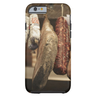 Italy,Tuscany,Pienza,Selection of local ham and Tough iPhone 6 Case