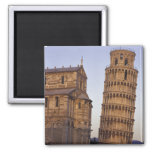 Italy, Tuscany, Pisa Leaning Tower of Pisa and Magnet