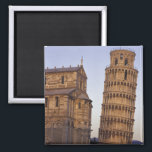 """Italy, Tuscany, Pisa Leaning Tower of Pisa and Magnet<br><div class=""""desc"""">Italy,  Tuscany,  Pisa Leaning Tower of Pisa and cathedral � John &amp; Lisa Merrill / DanitaDelimont.com</div>"""