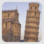 Italy, Tuscany, Pisa Leaning Tower of Pisa and Square Stickers