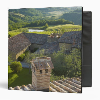 Italy, Tuscany. Roofop view of the villa Binder