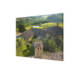 Italy, Tuscany. Roofop view of the villa Canvas Prints