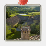 Italy, Tuscany. Roofop view of the villa Metal Ornament