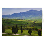 Italy, Tuscany. Scenic of the Tuscan Greeting Card
