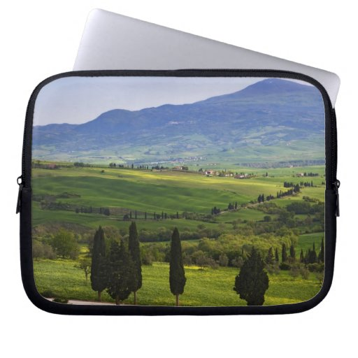 Italy, Tuscany. Scenic of the Tuscan Laptop Computer Sleeves