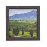 Italy, Tuscany. Scenic of the Tuscan Premium Trinket Box