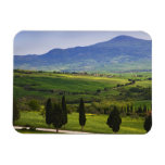 Italy, Tuscany. Scenic of the Tuscan Rectangular Magnets