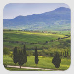 Italy, Tuscany. Scenic of the Tuscan Square Sticker