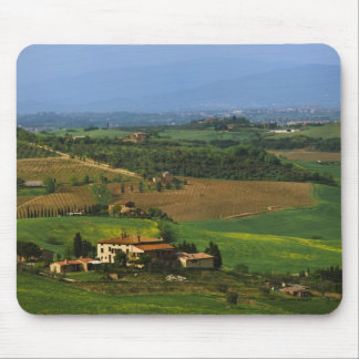 Italy, Tuscany. Scenic of the Val d'Orcia Mouse Pad