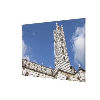 Italy, Tuscany, Siena. The Duomo. Canvas Print