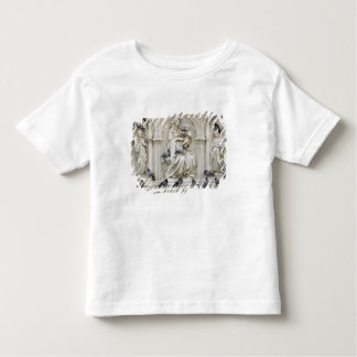 Italy, Tuscany, Sienna. Statues and birds on Toddler T-shirt