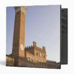 Italy, Tuscany, Sienna. Torre del Mangia on Binders