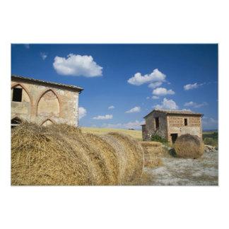 Italy, Tuscany, Tuscan Villa in Spring. 2 Photo Art
