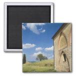 Italy, Tuscany, Tuscan Villa in Spring. Refrigerator Magnet