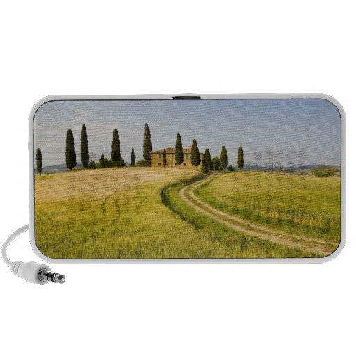 Italy, Tuscany, Tuscan Villa nearing Harvest. Portable Speaker