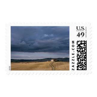 Italy,Tuscany,Val d'Orcia,Galina Postage Stamp