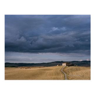 Italy,Tuscany,Val d'Orcia,Galina Postcard