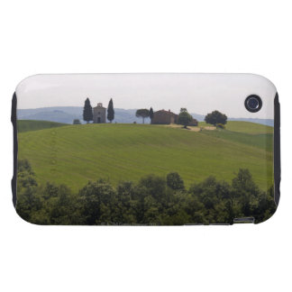 Italy, Tuscany, Val D'Orcia, Landscape 2 iPhone 3 Tough Case