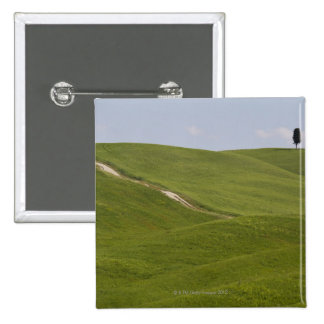 Italy, Tuscany, Val D'Orcia, Landscape 3 Button