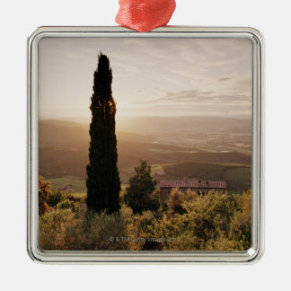 Italy,Tuscany,Val d'Orcia,Montalcino Metal Ornament