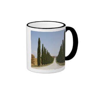 Italy. Tuscany. Val D'Orcia (Orcia Valley) 3 Ringer Coffee Mug