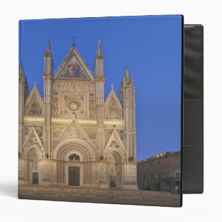Italy, Umbria, Orvieto, Orvieto Cathedral 3 Ring Binder